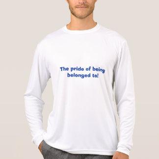 Camiseta O orgulho da pertença a!