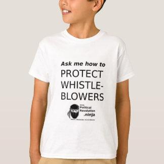 Camiseta O Quadrado-ou-círculo pede-me - WhistleBlowers