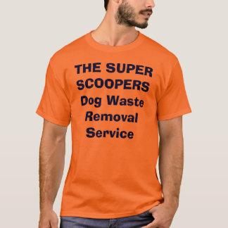 Camiseta O serviço SUPER da remoção Waste do cão de