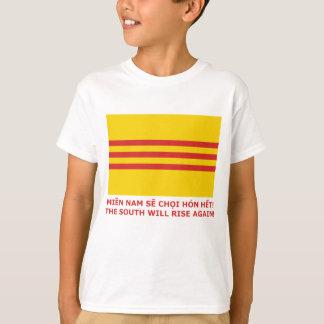 Camiseta O sul aumentará outra vez! Vietnam sul, de que é!