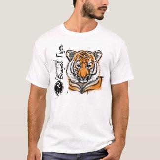 Camiseta O T dos homens pstos em perigo do tigre | de |