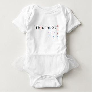 Camiseta O Triathlon deixou a raça começar