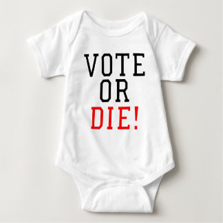 Camiseta O voto ou morre!