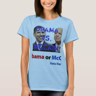 Camiseta obama_vs_mccain (2), Obama contra McCain