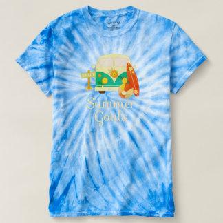 Camiseta Objetivos do verão do sonho das férias da praia