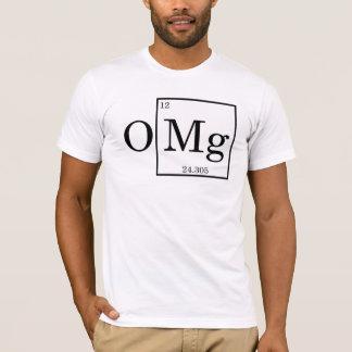 Camiseta OMG - Magnésio - magnésio - mesa periódica