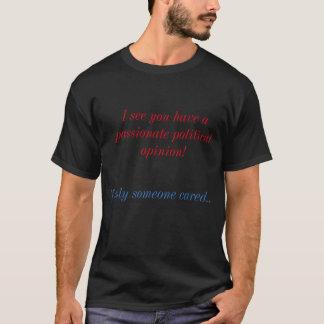 Camiseta Opinião política
