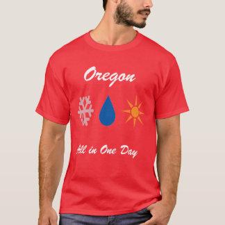 Camiseta Oregon em um dia