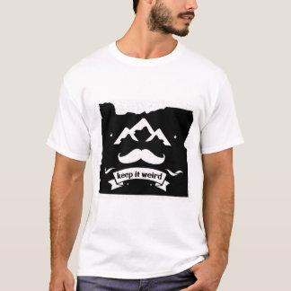 Camiseta Oregon mantem-no estranho