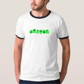 Camiseta Oregon na elevação
