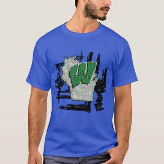 Camiseta Orgulho do estado de Wisconsin