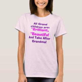 Camiseta Os bebês da avó