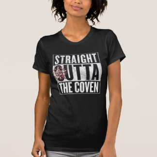 Camiseta Outta reto o T gráfico oculto do Coven