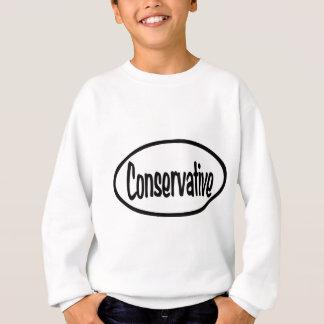 Camiseta Oval conservador