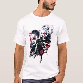 Camiseta Palhaço do pelotão | do suicídio & grafites