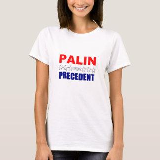 Camiseta Palin para o precedente