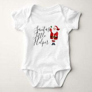 Camiseta Papai noel pequeno do ajudante do papai noel e