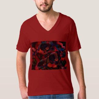 Camiseta Papoilas pretas