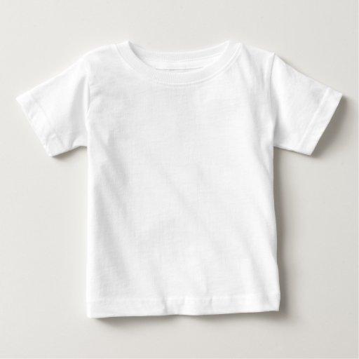 Camiseta Fine Jersey para Bebê, Branco