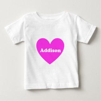 Camiseta Para Bebê Addison