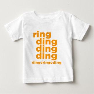 Camiseta Para Bebê Anel Ding Ding Ding