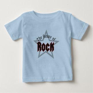 Camiseta Para Bebê Baby-Rock