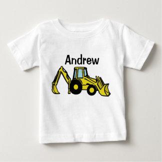 Camiseta Para Bebê backhoe, Andrew