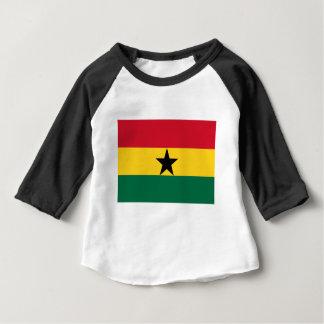 Camiseta Para Bebê Baixo custo! Bandeira de Ghana