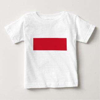 Camiseta Para Bebê Baixo custo! Bandeira de Monaco