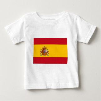 Camiseta Para Bebê Bandeira da espanha - Bandera de España - bandeira