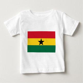 Camiseta Para Bebê Bandeira de Ghana - bandeira ganesa