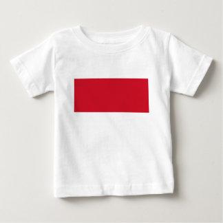 Camiseta Para Bebê Bandeira de Monaco - Drapeau de Monaco
