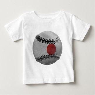 Camiseta Para Bebê Basebol japonês