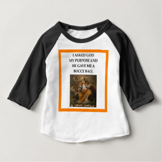 Camiseta Para Bebê bocce