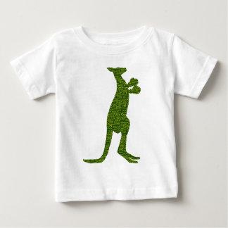 Camiseta Para Bebê Canguru australiano do encaixotamento com