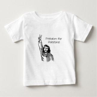 Camiseta Para Bebê Che Guevara, liberdade de Palestina!