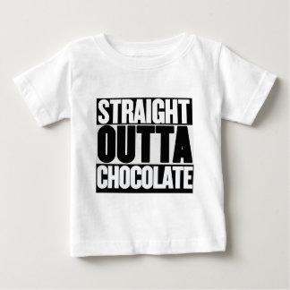 Camiseta Para Bebê Chocolate reto de Outta