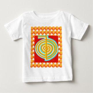 Camiseta Para Bebê CHOKURAY: Símbolo cura de Reiki do RAIO de CHO KU