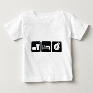 Camiseta Para Bebê Coma o impulso do sono
