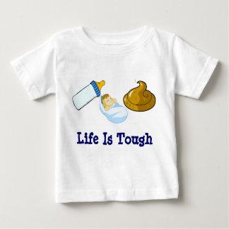 Camiseta Para Bebê Coma o tombadilho do sono, vida é resistente