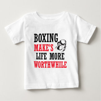 Camiseta Para Bebê design legal do encaixotamento