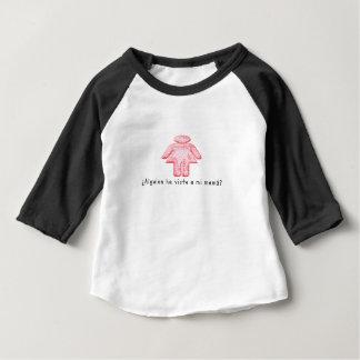 Camiseta Para Bebê Espanhol-Momma