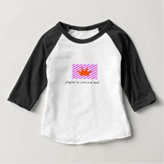 Camiseta Para Bebê Espanhol-Tolo