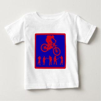 Camiseta Para Bebê Estrada resistente da bicicleta