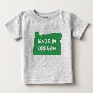 Camiseta Para Bebê Feito no estado de Oregon de nascer de Oregon em