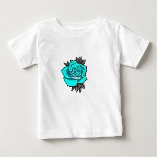 Camiseta Para Bebê flash cor-de-rosa do tatuagem