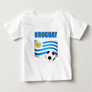 Camiseta Para Bebê Futebol 1904 de Uruguai