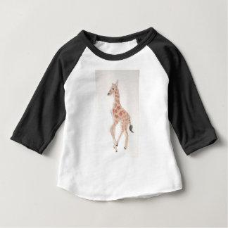 Camiseta Para Bebê girafa que tira eliana