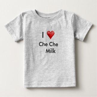 Camiseta Para Bebê leite do cheche