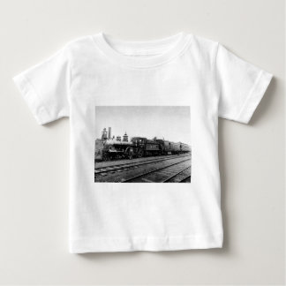 Camiseta Para Bebê Locomotiva grande 345 do tronco - vintage